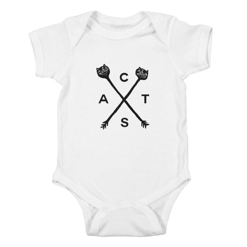 Cats? Cast? Kids Baby Bodysuit by CATCARYEG