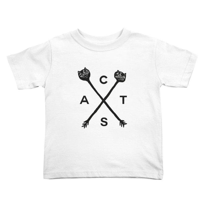 Cats? Cast? Kids Toddler T-Shirt by CATCARYEG