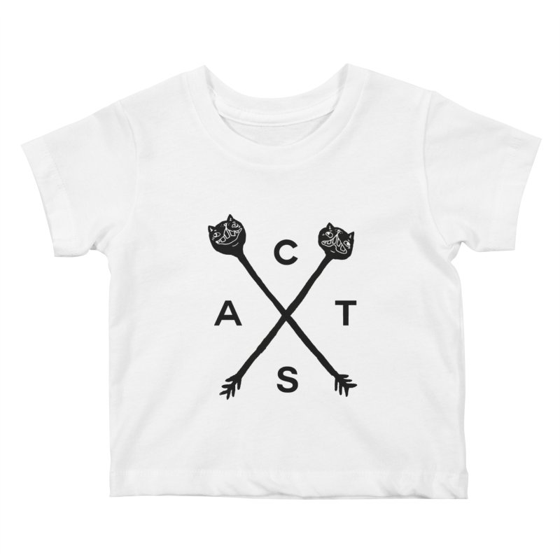 Cats? Cast? Kids Baby T-Shirt by CATCARYEG