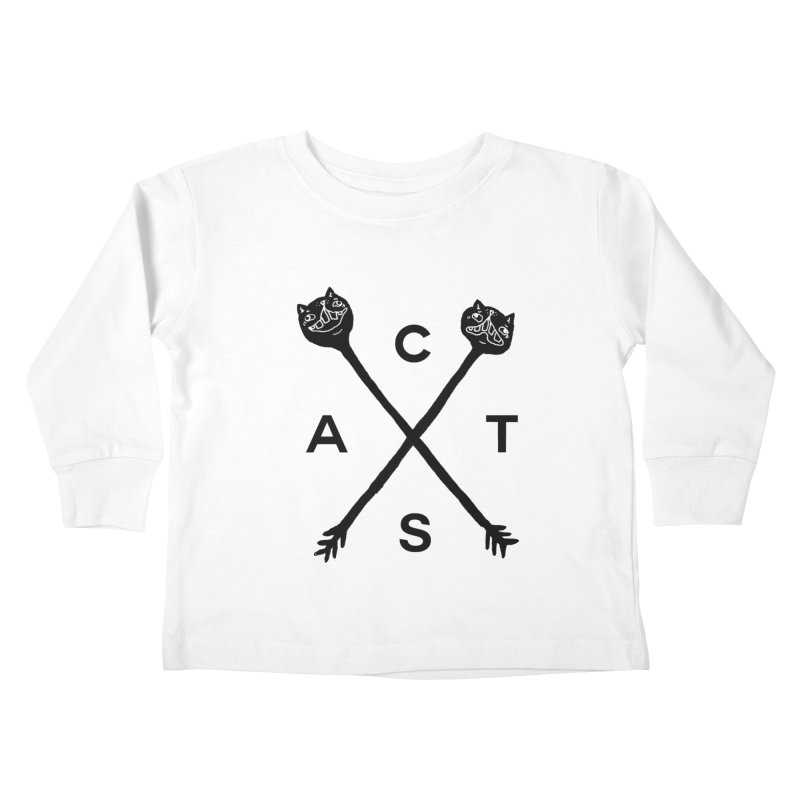 Cats? Cast? Kids Toddler Longsleeve T-Shirt by CATCARYEG