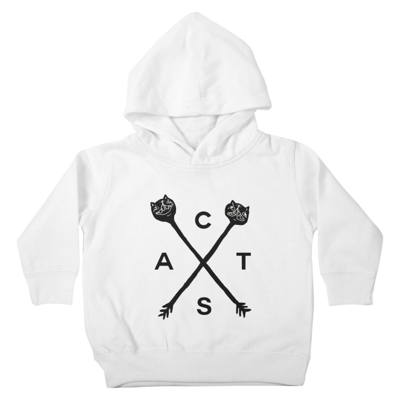 Cats? Cast? Kids Toddler Pullover Hoody by CATCARYEG