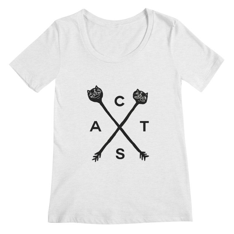 Cats? Cast? Women's Regular Scoop Neck by CATCARYEG