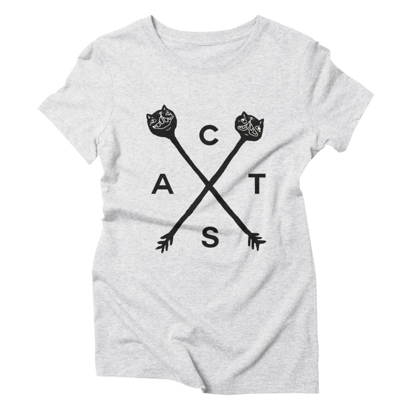 Cats? Cast? Women's Triblend T-Shirt by CATCARYEG
