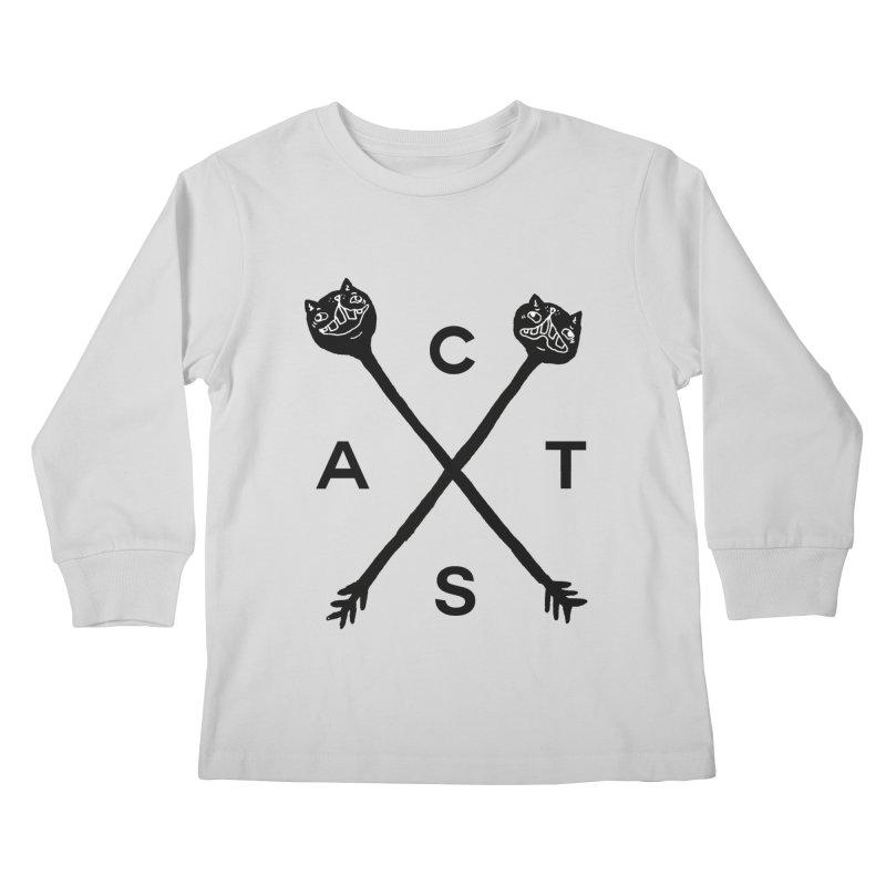 Cats? Cast? Kids Longsleeve T-Shirt by CATCARYEG