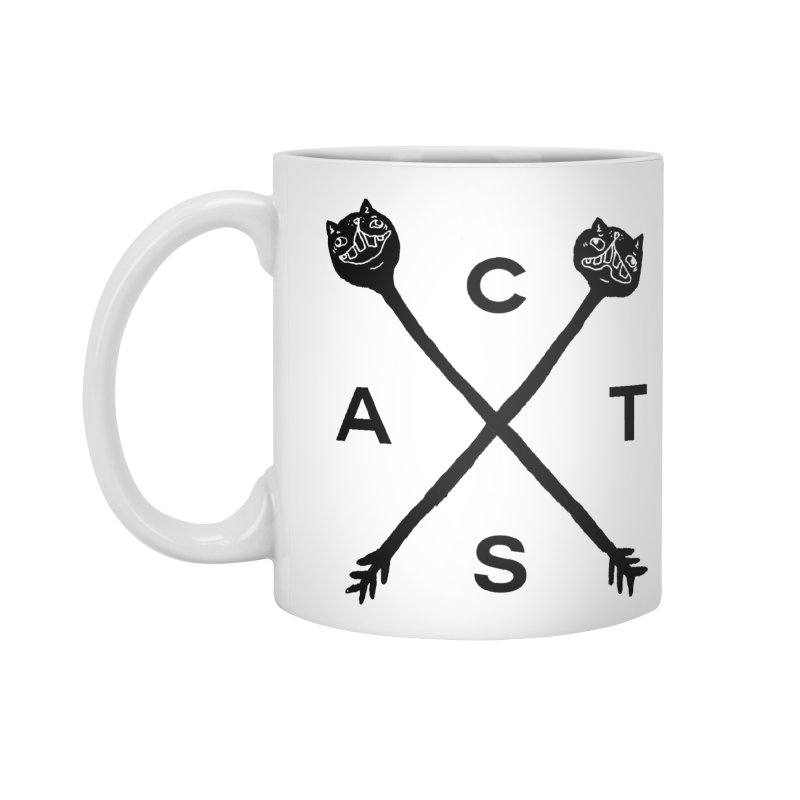 Cats? Cast? Accessories Standard Mug by CATCARYEG
