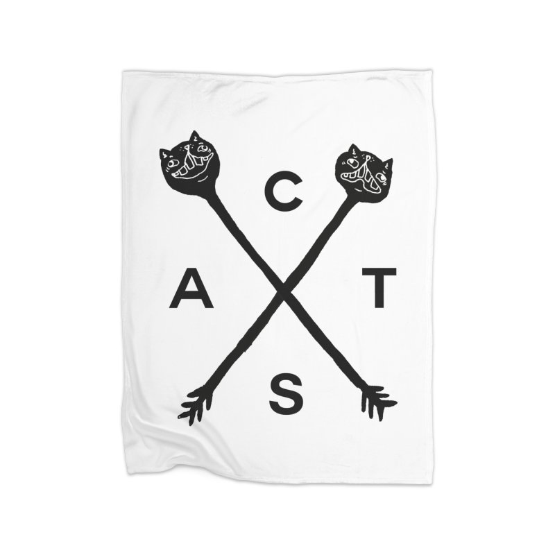 Cats? Cast? Home Blanket by CATCARYEG