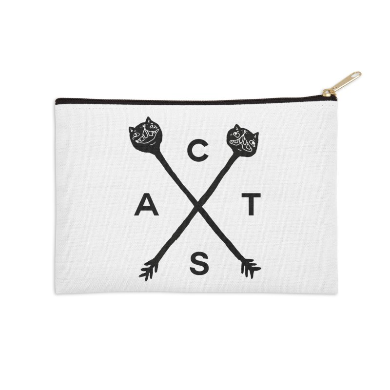 Cats? Cast? Accessories Zip Pouch by CATCARYEG