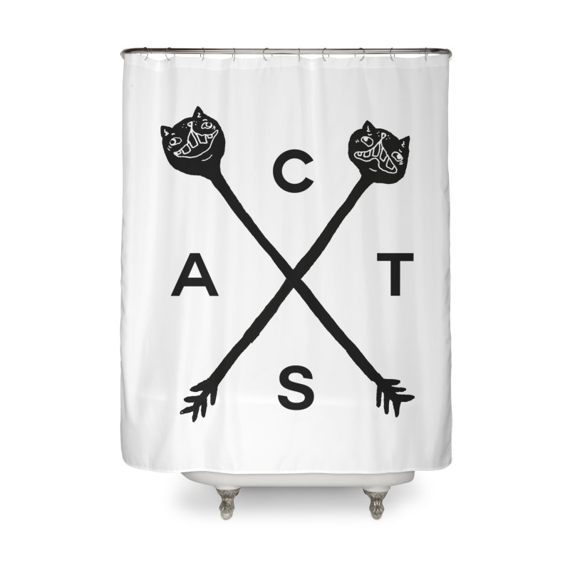 Cats? Cast? Home Shower Curtain by CATCARYEG