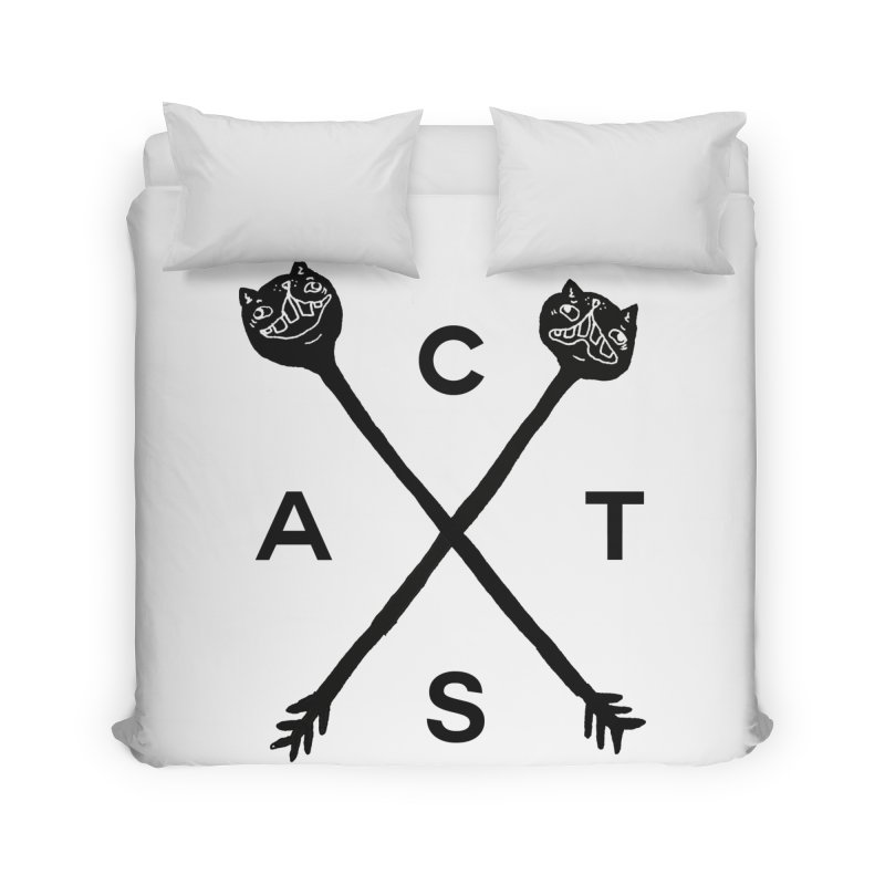 Cats? Cast? Home Duvet by CATCARYEG