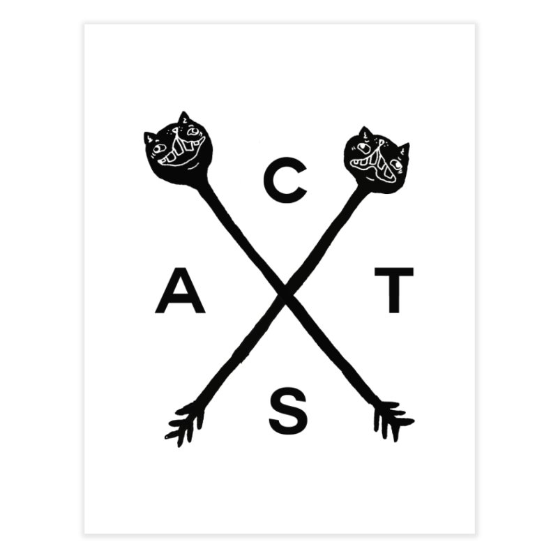 Cats? Cast? Home Fine Art Print by CATCARYEG