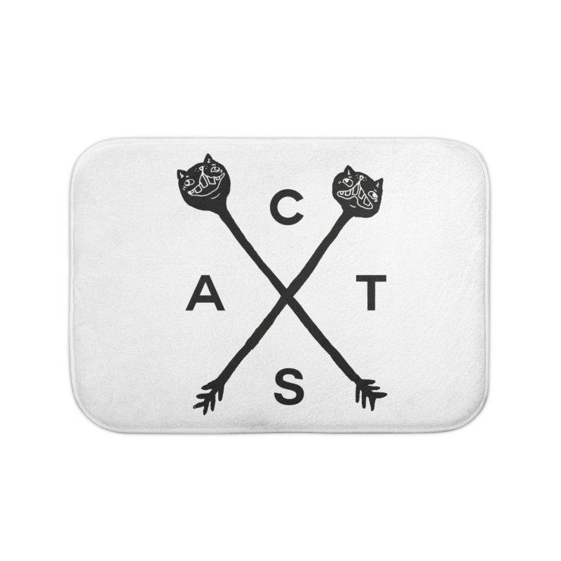Cats? Cast? Home Bath Mat by CATCARYEG