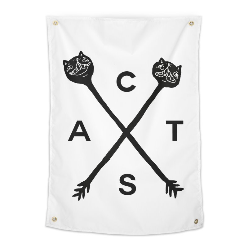 Cats? Cast? Home Tapestry by CATCARYEG