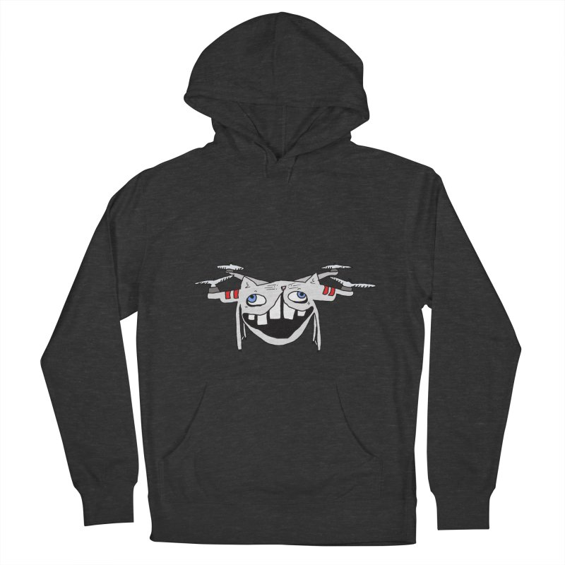 Drone Cat Women's French Terry Pullover Hoody by CATCARYEG