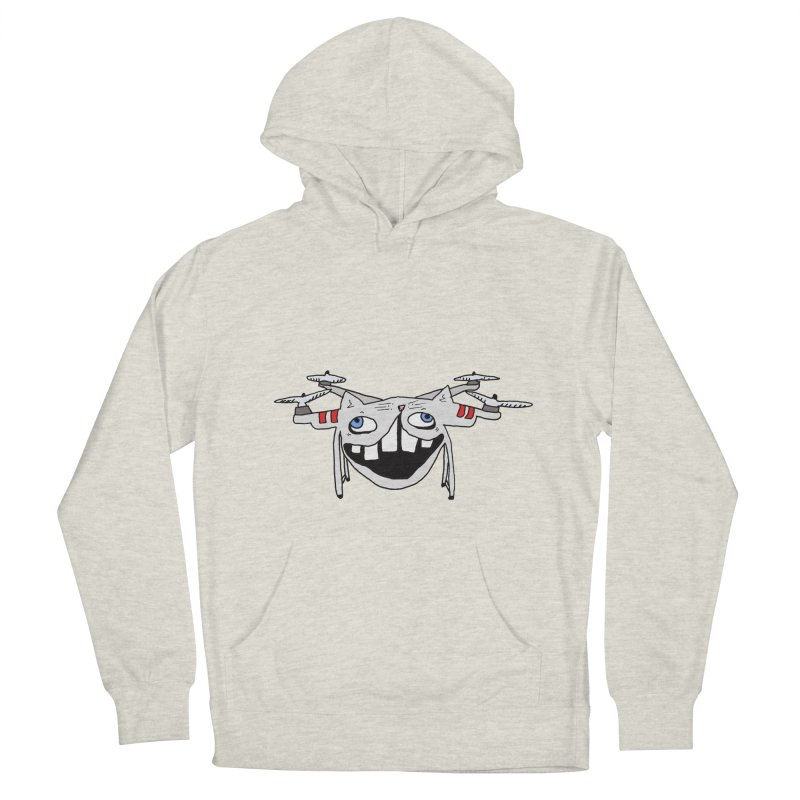 Drone Cat Men's French Terry Pullover Hoody by CATCARYEG