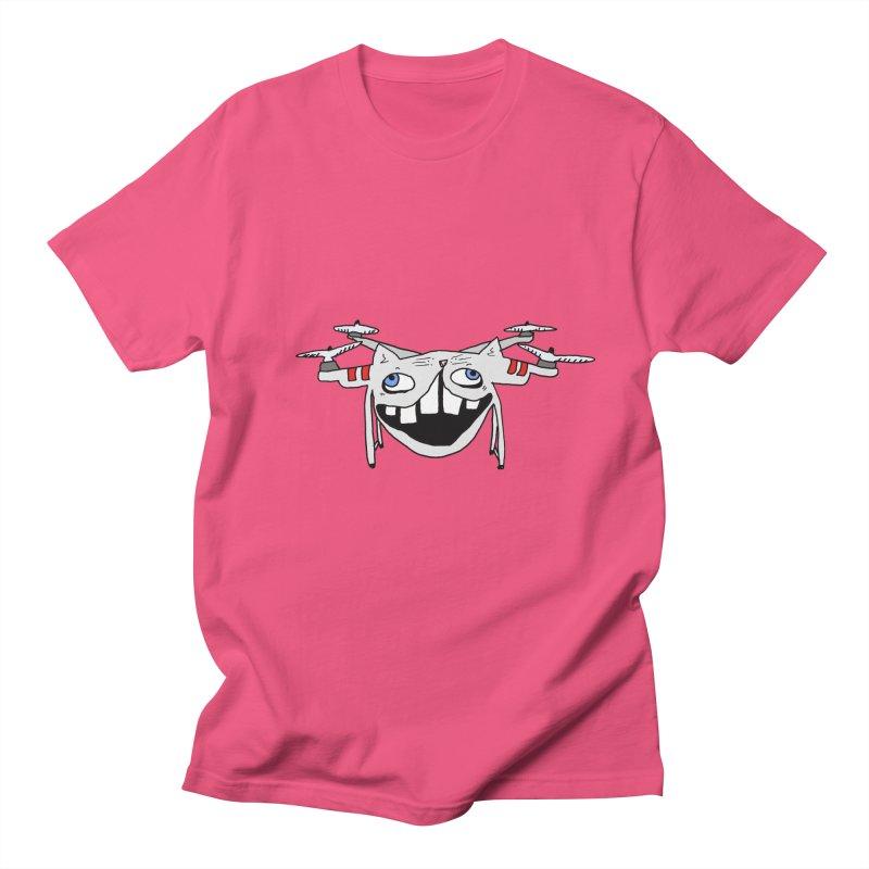 Drone Cat Women's Regular Unisex T-Shirt by CATCARYEG
