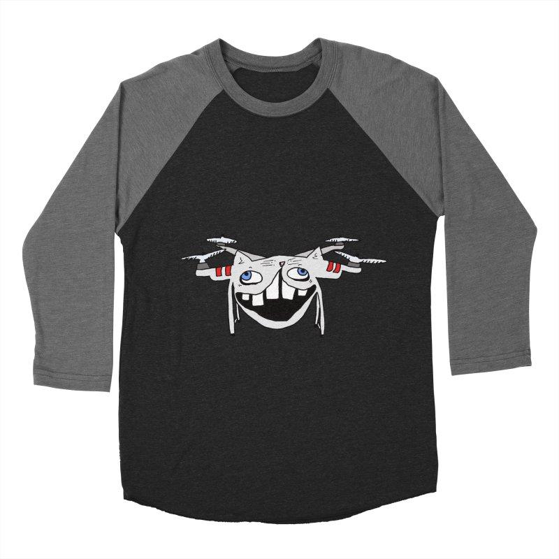Drone Cat Men's Baseball Triblend Longsleeve T-Shirt by CATCARYEG