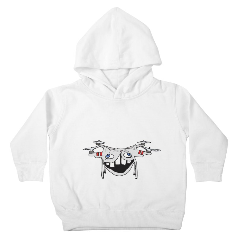 Drone Cat Kids Toddler Pullover Hoody by CATCARYEG