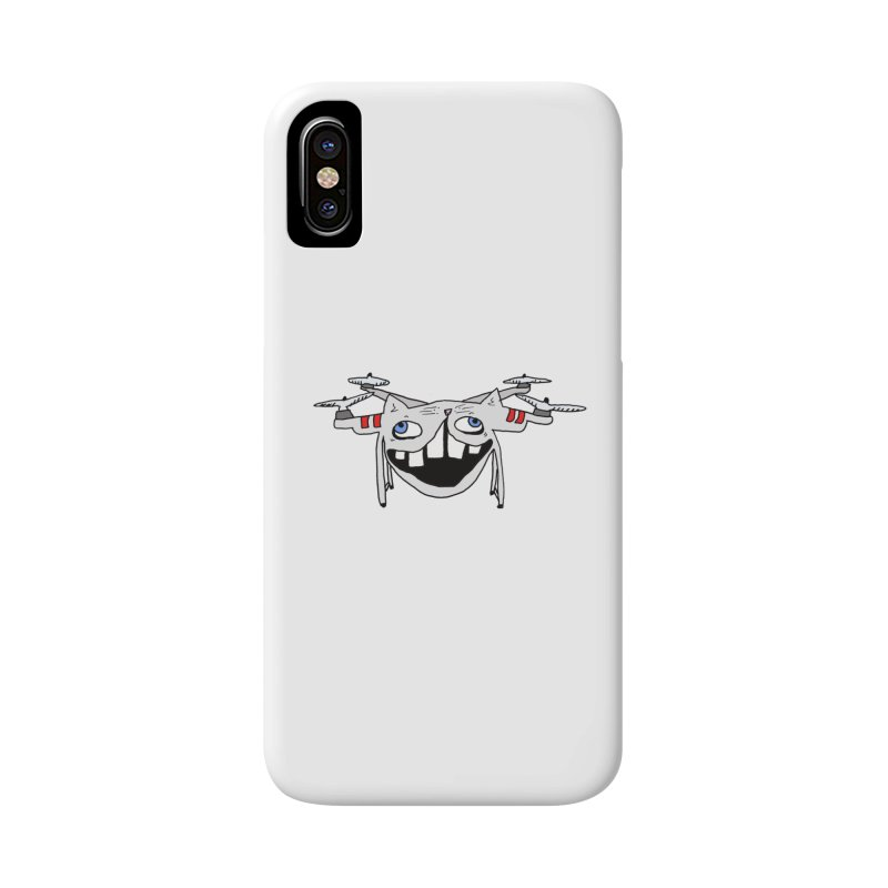Drone Cat Accessories Phone Case by CATCARYEG