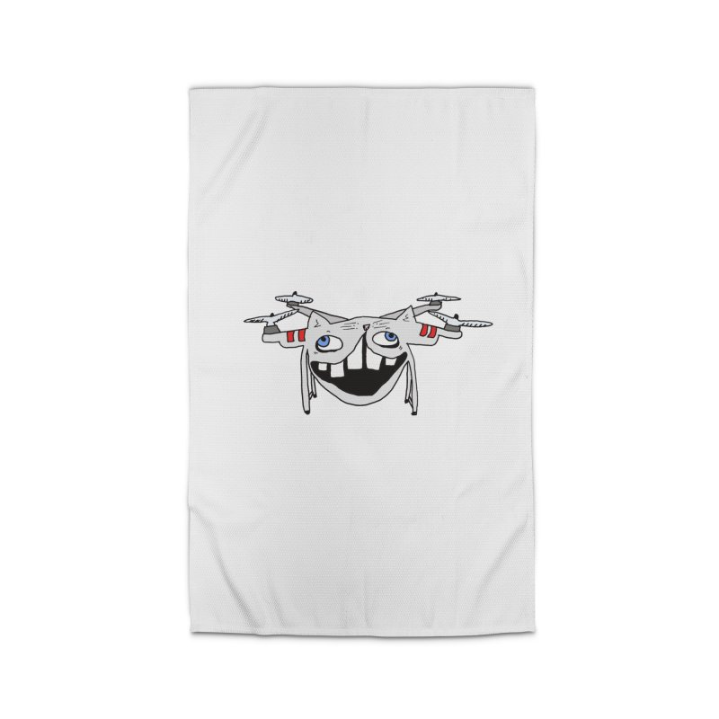 Drone Cat Home Rug by CATCARYEG