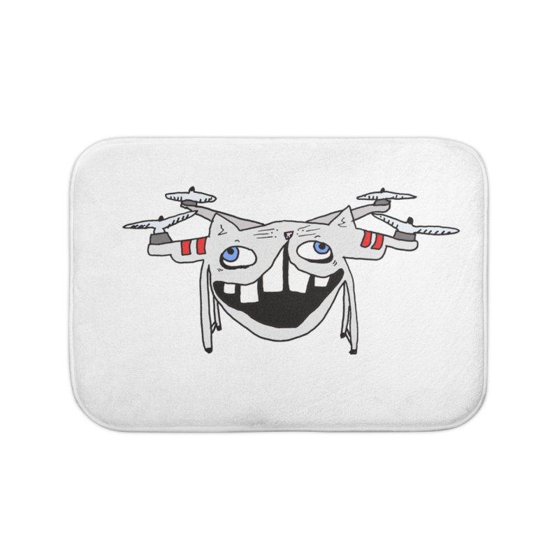 Drone Cat Home Bath Mat by CATCARYEG
