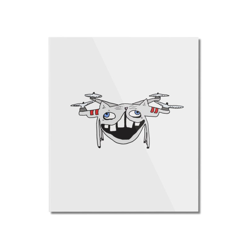 Drone Cat Home Mounted Acrylic Print by CATCARYEG