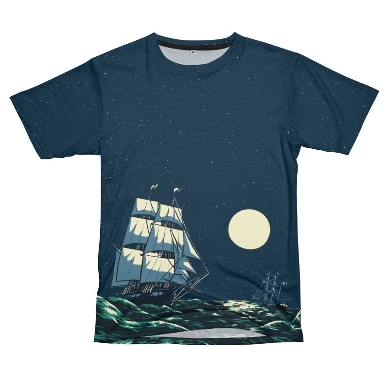 Ship at Sea Women's Cut & Sew by Catparrts' Shop