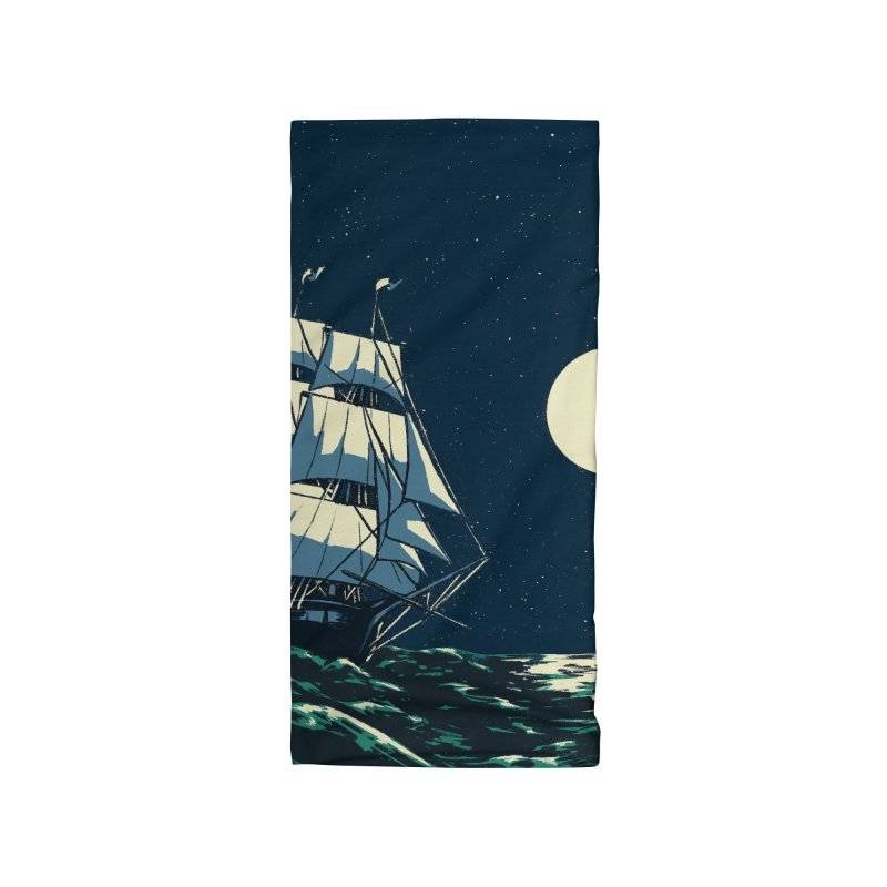 Ship at Sea Accessories Neck Gaiter by Catparrts' Shop
