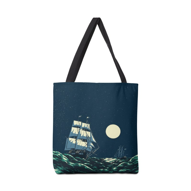 Ship at Sea Accessories Bag by Catparrts' Shop