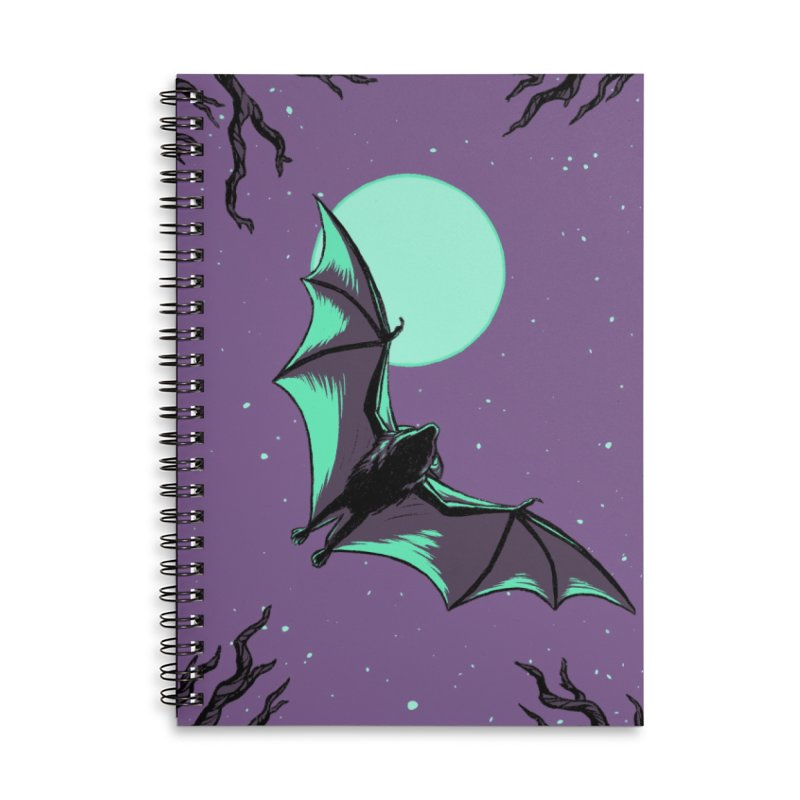 Nocturnal Accessories Notebook by Catparrts' Shop