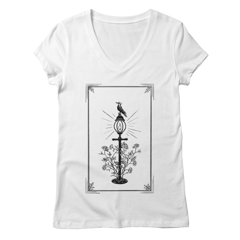 Beacon Women's V-Neck by Catparrts' Shop