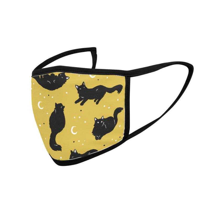 Crescent Cattern Accessories Face Mask by Catparrts' Shop