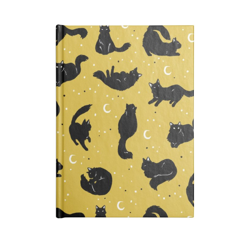 Crescent Cattern Accessories Notebook by Catparrts' Shop