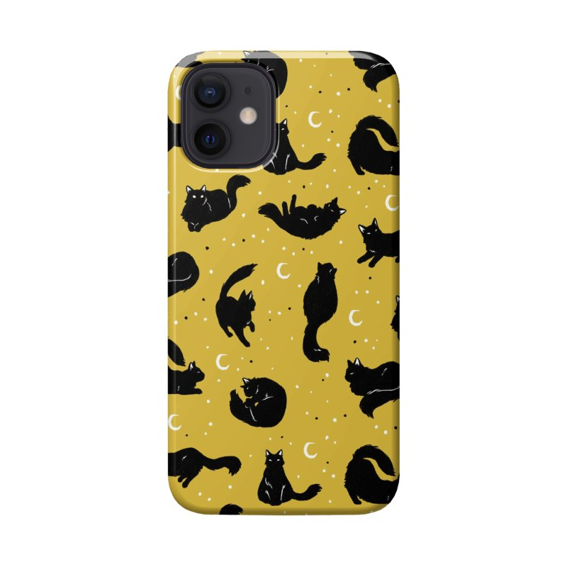Crescent Cattern Accessories Phone Case by Catparrts' Shop