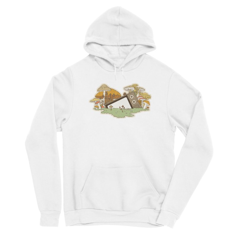 Mushroom Forest Forecast Women's Pullover Hoody by Catparrts' Shop
