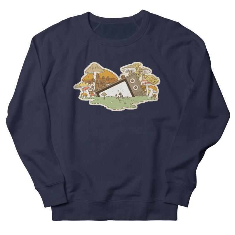 Mushroom Forest Forecast Men's Sweatshirt by Catparrts' Shop