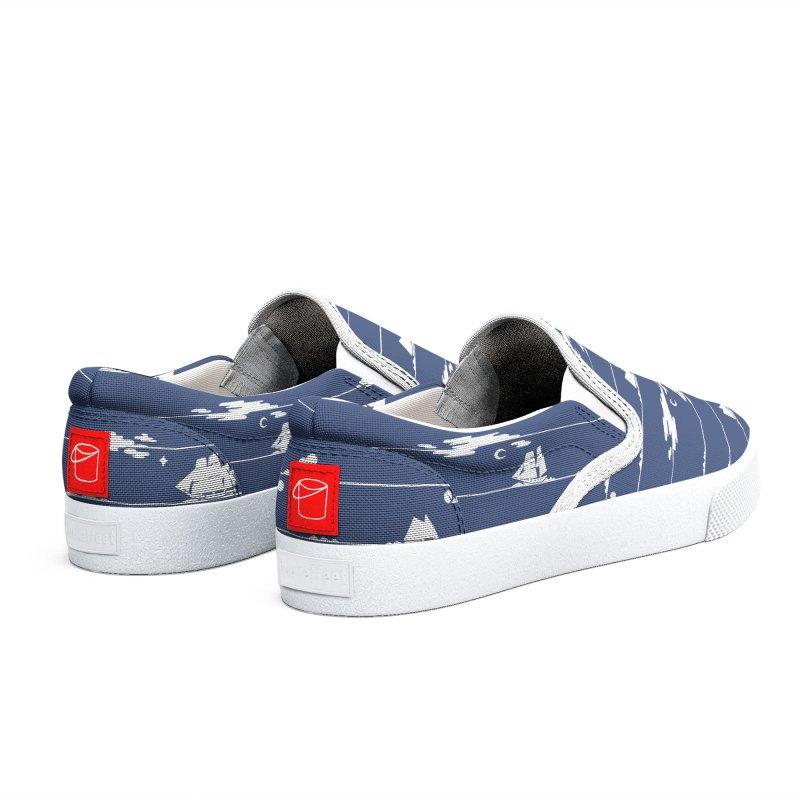 Parallel Horizons Men's Shoes by Catparrts' Shop