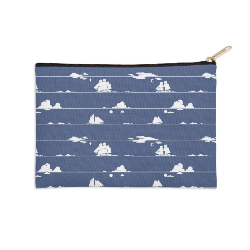 Parallel Horizons Accessories Zip Pouch by Catparrts' Shop
