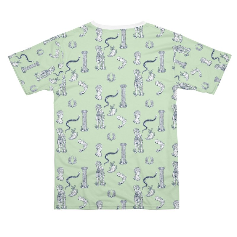 Mint and Marble Men's Cut & Sew by Catparrts' Shop