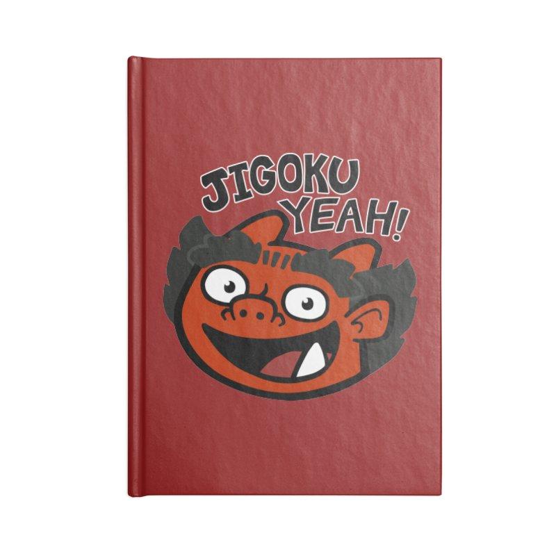 Jigoku Yeah Shirt Accessories Notebook by Cattype's Artist Shop