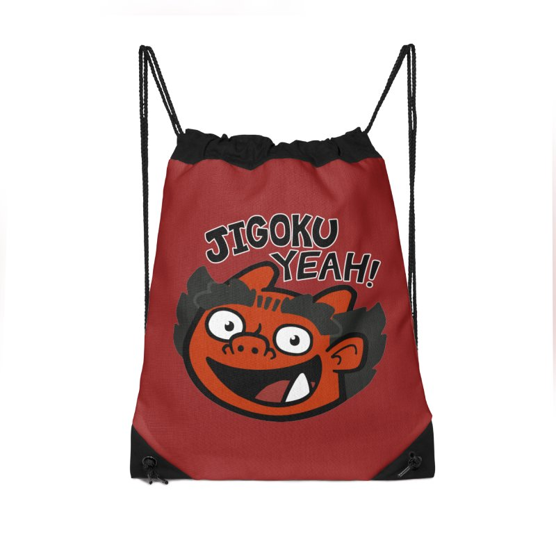Jigoku Yeah Shirt Accessories Bag by Cattype's Artist Shop