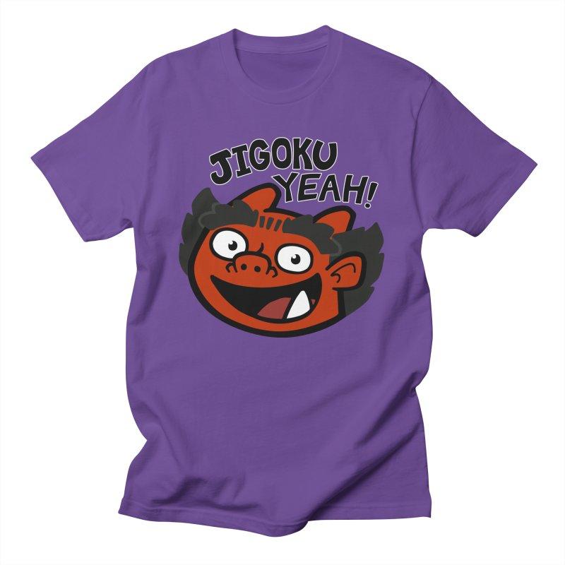 Jigoku Yeah Shirt Men's T-Shirt by Cattype's Artist Shop