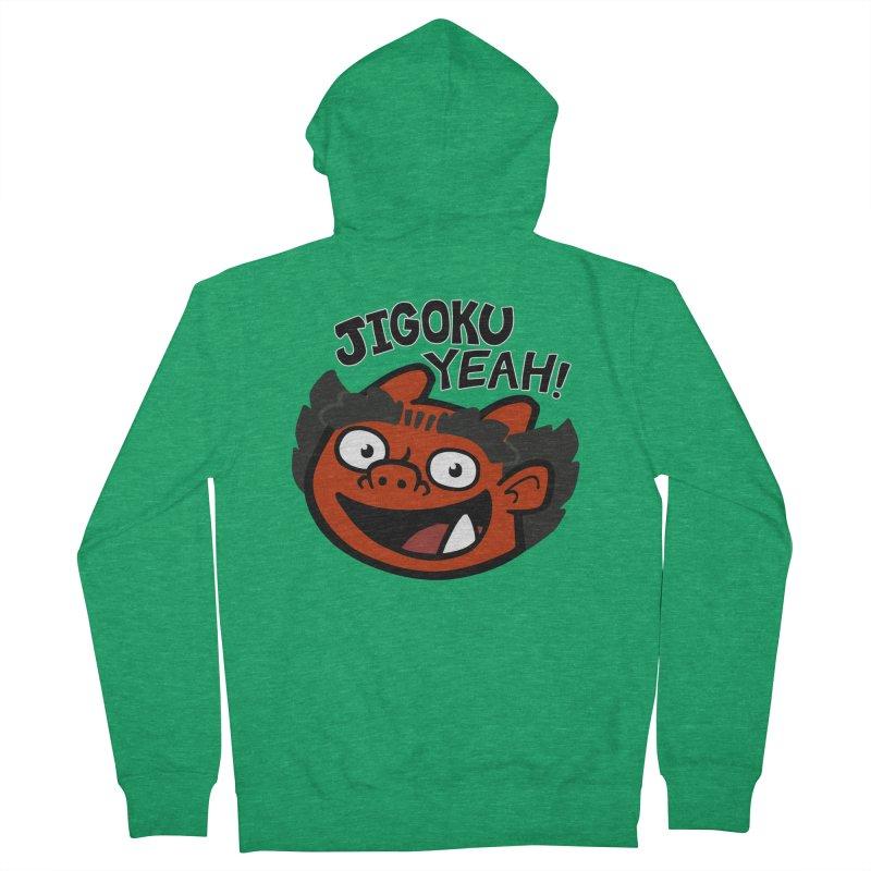 Jigoku Yeah Shirt Men's Zip-Up Hoody by Cattype's Artist Shop