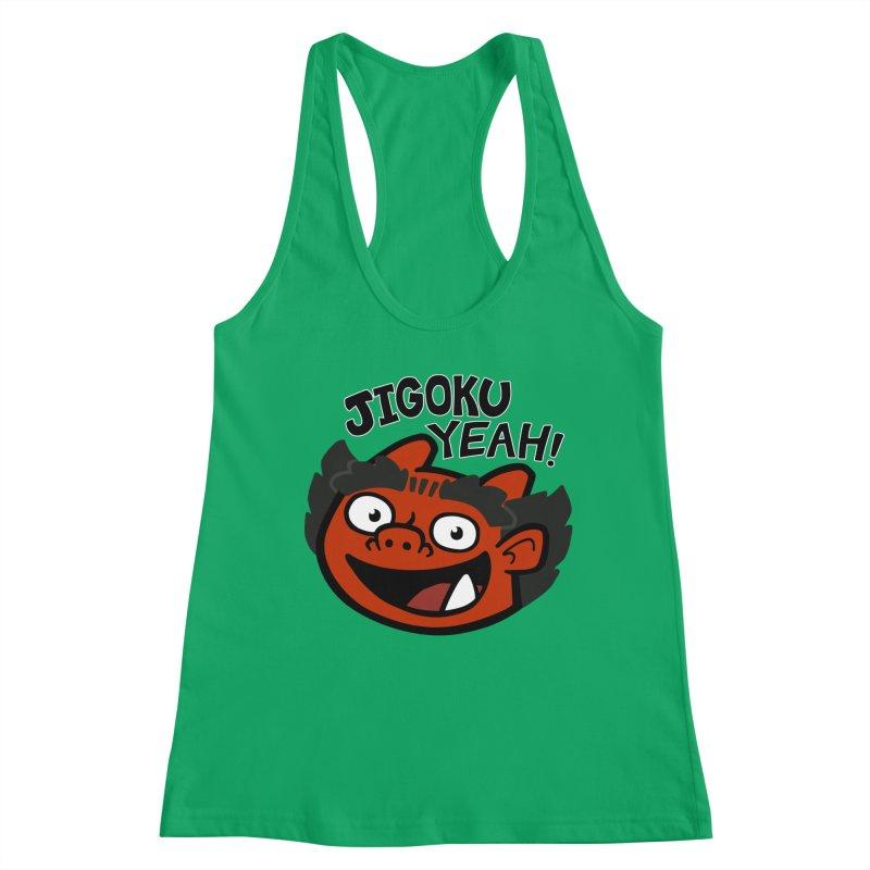 Jigoku Yeah Shirt Women's Tank by Cattype's Artist Shop