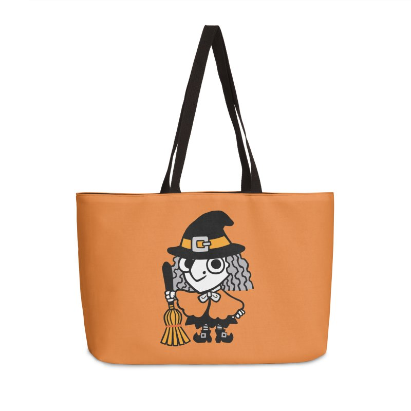Kooky Spooky Witch Accessories Bag by Cattype's Artist Shop