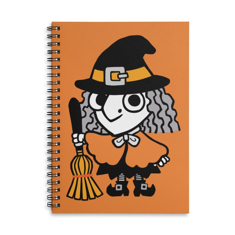 Kooky Spooky Witch Accessories Notebook by Cattype's Artist Shop