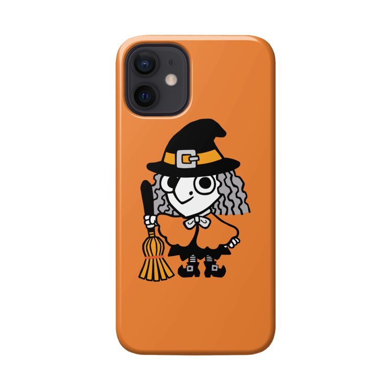 Kooky Spooky Witch Accessories Phone Case by Cattype's Artist Shop