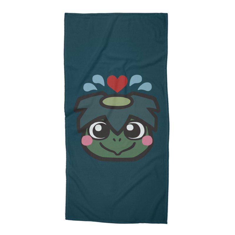 Kappa Love Accessories Beach Towel by Cattype's Artist Shop