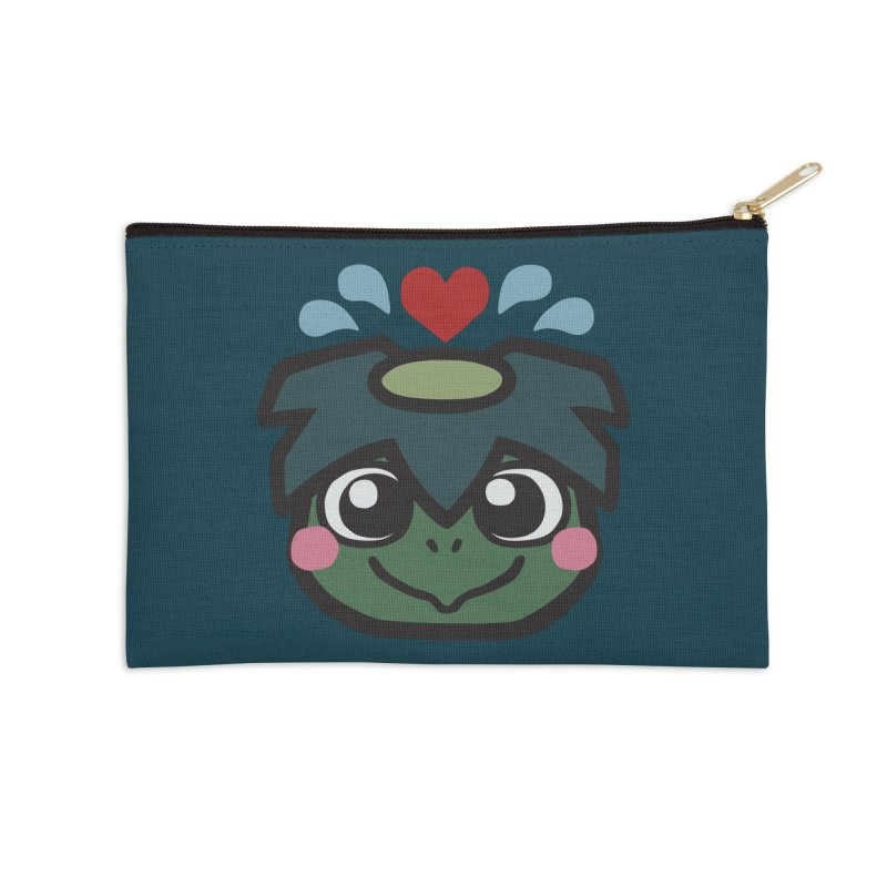 Kappa Love Accessories Zip Pouch by Cattype's Artist Shop