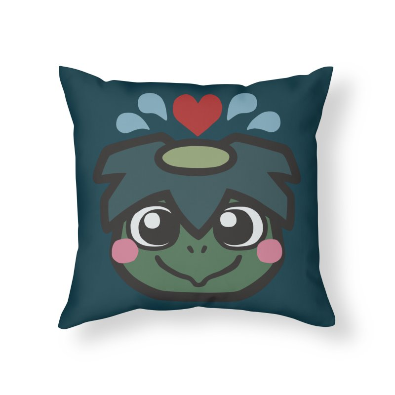 Kappa Love Home Throw Pillow by Cattype's Artist Shop