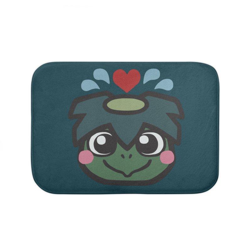 Kappa Love Home Bath Mat by Cattype's Artist Shop